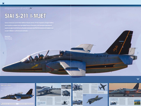 volo acrobatico: acrobazia con il S-211 I-MJET.  VFR Aviation Agosto 2016