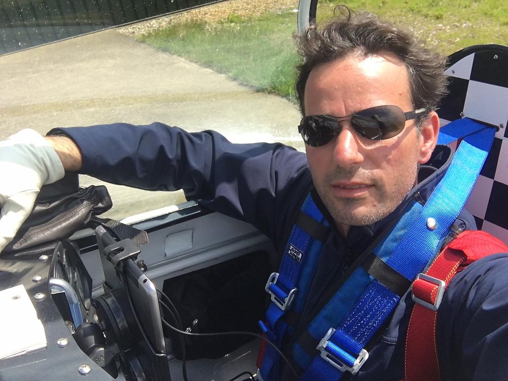 Francesco Fullin, volo acrobatico, pilota acrobatico