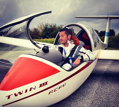 volo acrobatico: Ferrarese su Twin III