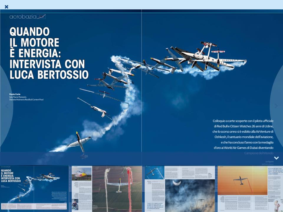 Luca Bertossio su VFR Aviation