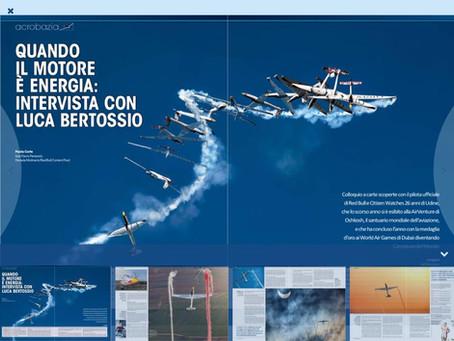 volo acrobatico: intervista a Luca Bertossio per VFR Aviation- maggio 2016