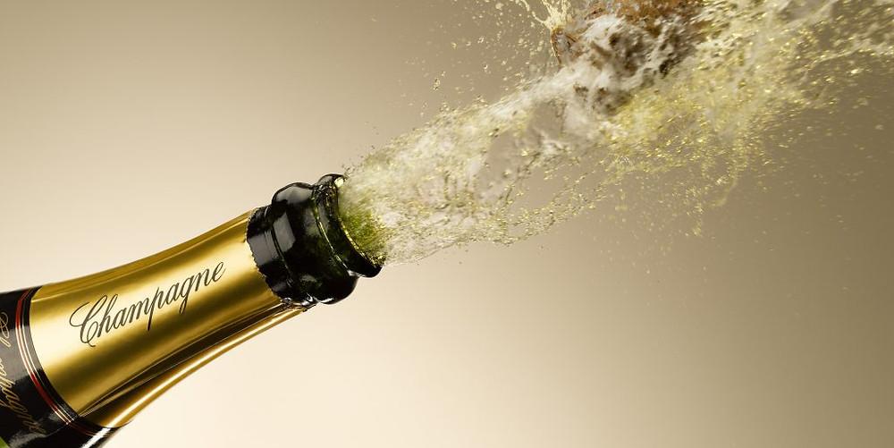 la DOP Champagne utilizzato nella denominazione del sorbetto