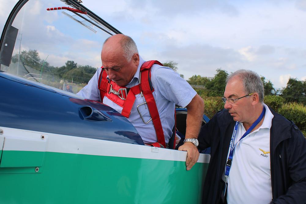 Pilota Acrobatico, Gianfranco Cillario