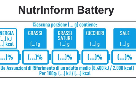 NutrInform Battery: the Italian alternative to Nutriscore is coming soon