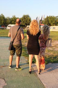 Yakitalia backstage Pesaro Airshow