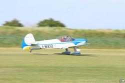 volo acrobatico: Cap 10 in decollo