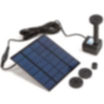Solar Garden Pump