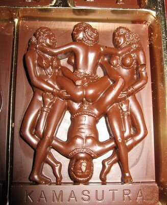 Kamasutra chocolate bar