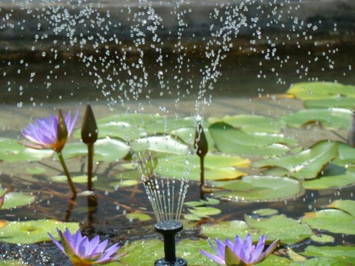 Solar Fountain