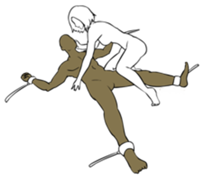 sex position with cuffs
