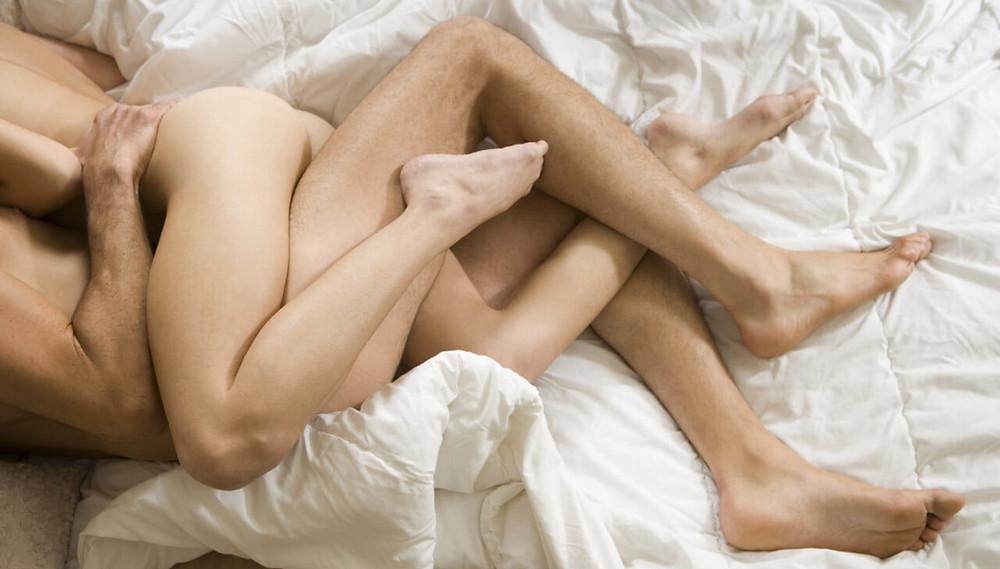 Couple Sleeping Nude