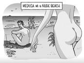 Medusa on the beach