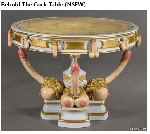 The Cock Table