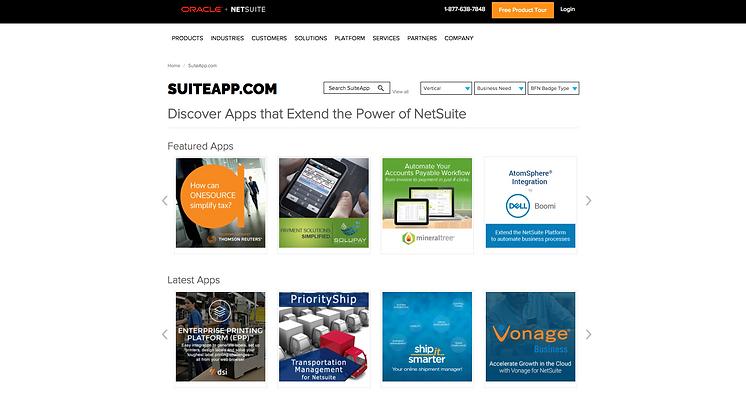 NetSuite Suiteapp
