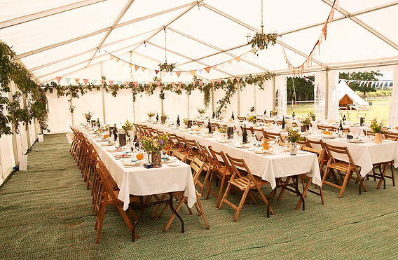 here is a beautiful party with a tropical theeme with fresh flowers and chiavari folding chairs