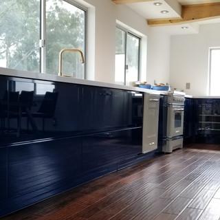 Malibu Kitchen Window and Flooring