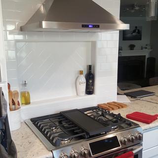 Chino Hills Kitchen Remodel New Hood Range