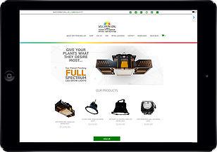 led website design