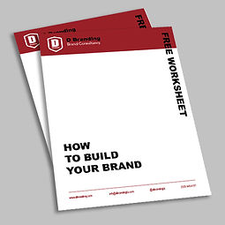 How to build a brand worksheet