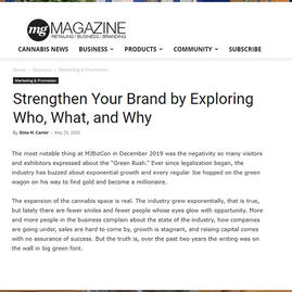 Article published on MG Magazine