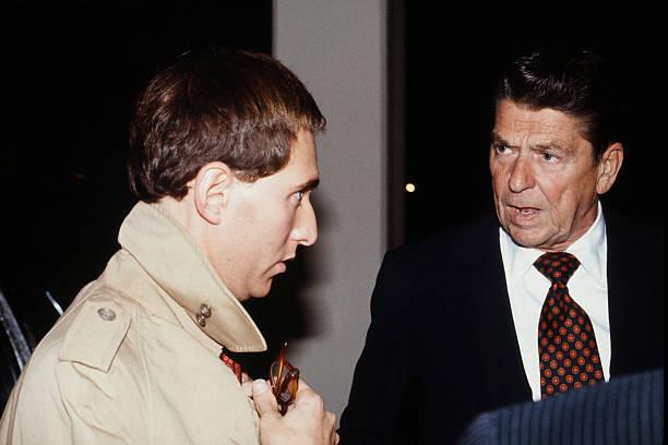 Roger Stone and Ronald Reagan