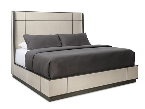 Repetition Wood Bed - King