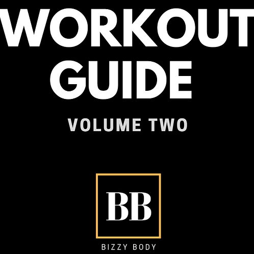 BIZZY BODY WORKOUT GUIDE VOL 2