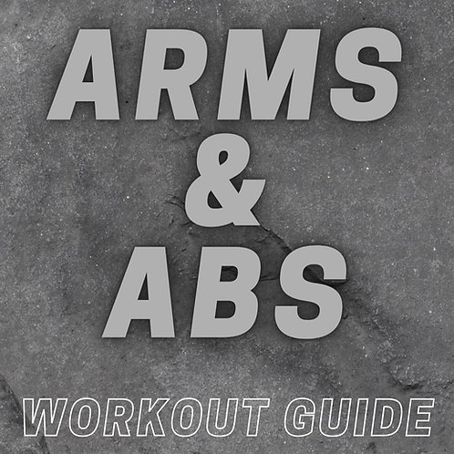 Arms & Abs Workout Guide