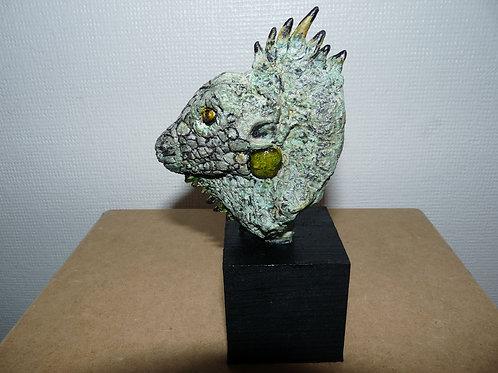 Mini buste d'Iguane