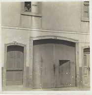 As primeiras instalações da Garagem da Bela Vista. Ano 1909.