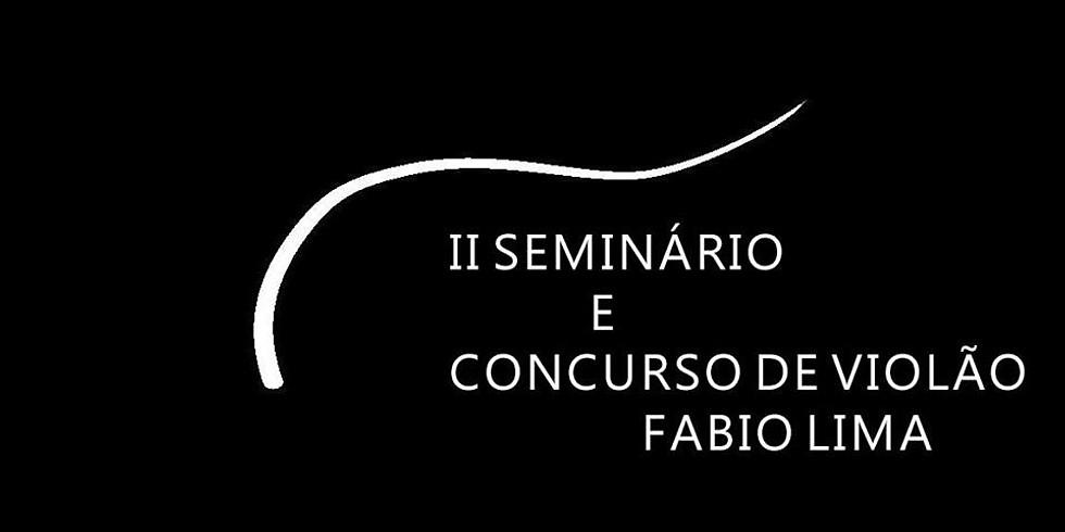 CONCERTO EM CURITIBA (PR) - SEMINÁRIO DE VIOLÃO FÁBIO LIMA