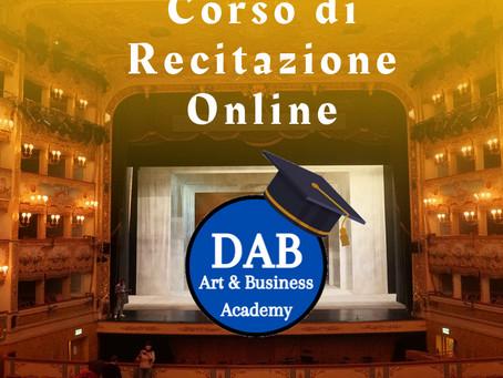 Corso Online di Recitazione