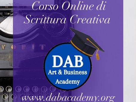 Corso Online di Scrittura Creativa