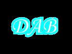 DAB-logo_bianco_contorno_azzurro_senza_n