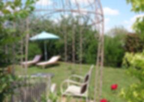 Jardin prive Bragelogne Portail Marais P