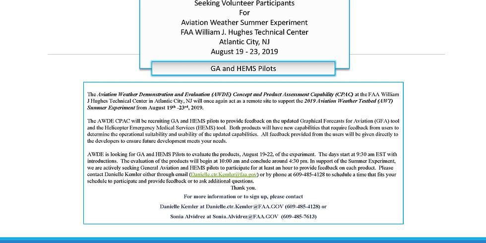 HEMS WX Tool Research Experiment, Atlantic City / 2 of 2 (1)