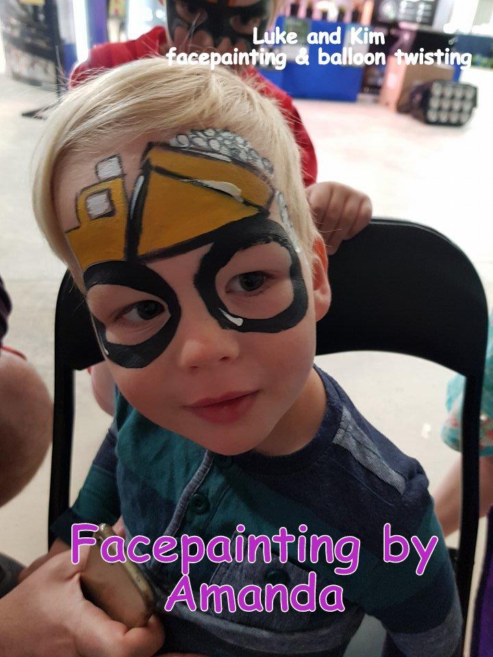 facepainting Gippsland