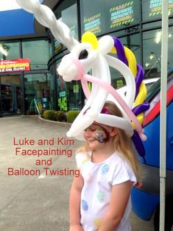 balloon twist unicorn Warragul