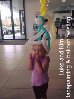 Cardinia Lakes Pakenham balloon twis