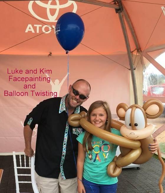 balloon twisting art Gippsland