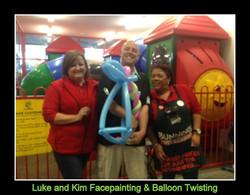 Bunnings Traralgon balloon twist