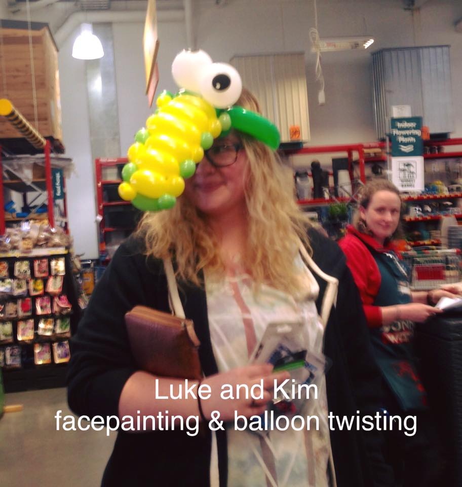Traralgon bunnings Gippsland balloon