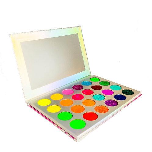 Color Palette Glitter 01