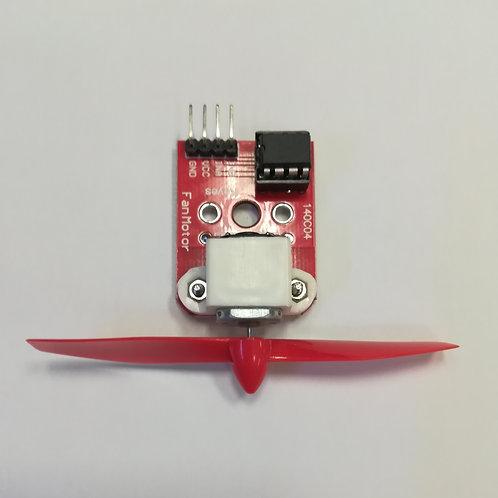 Электродвигатель с пропеллером и контроллером
