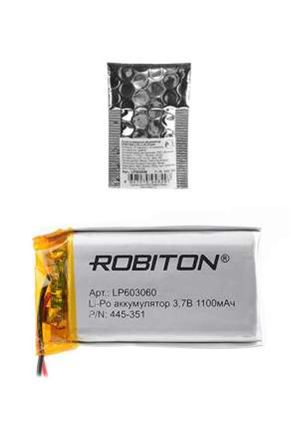 ROBITON LP603060 3.7В 1100мАч PK1