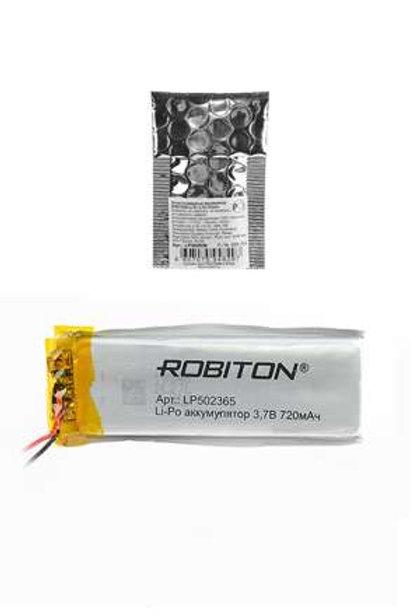ROBITON LP502365 3.7В 720мАч PK1