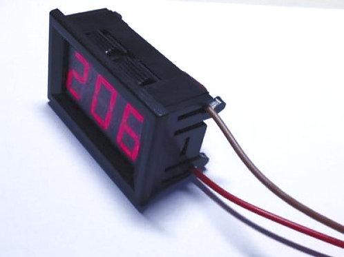 """Модуль вольтметра в корпусе 0,56"""" AC 150-280В"""