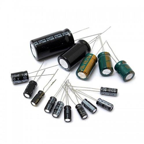 Набор конденсаторов электролитов 0.22...470 мкф