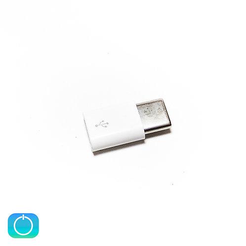 Переходник micro USB (F) - Type C (M)