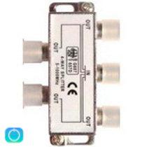 Делители ТВ сигнала на 4TV (F разъем 5..1000 МГц)